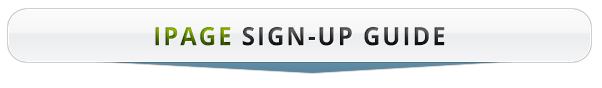 iPage Sign up Guide title