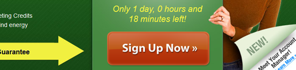 ipage signup now button